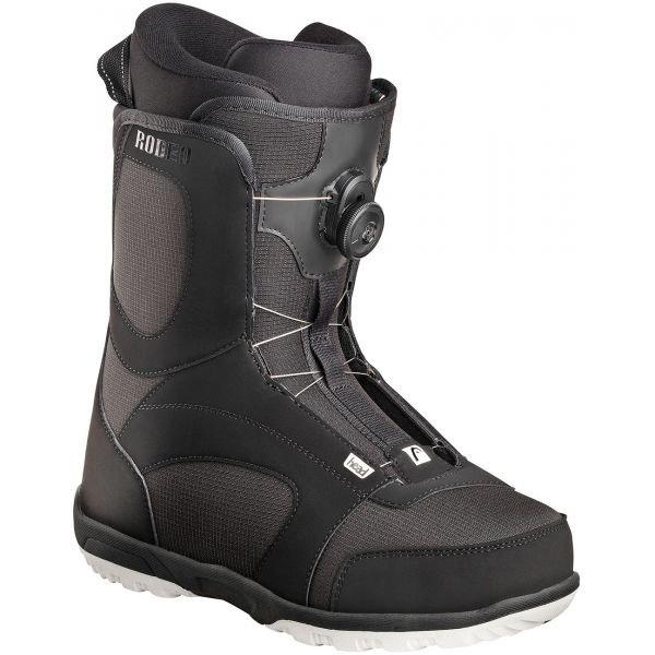 Černé pánské boty na snowboard Head