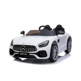Bílé dětské elektrické autíčko Mercedes-Benz, Made