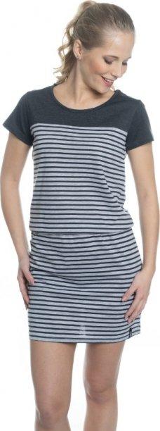 Šedé dámské šaty Sam 73 - velikost S