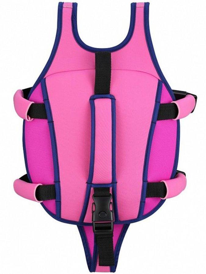 Růžová dětská chlapecká nebo dívčí plovací vesta Aqua Sphere - velikost 3-6 let