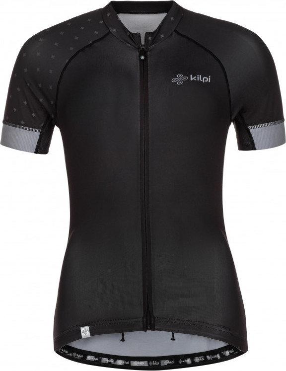 Černý dámský cyklistický dres Kilpi