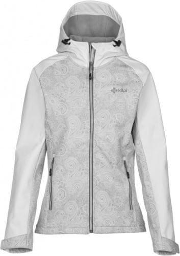 Bílá softshellová dámská bunda Kilpi