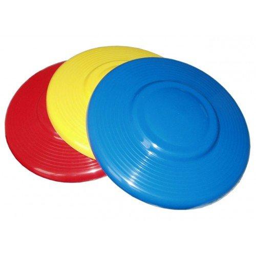 Žluté plastové frisbee Lori - průměr 22 cm