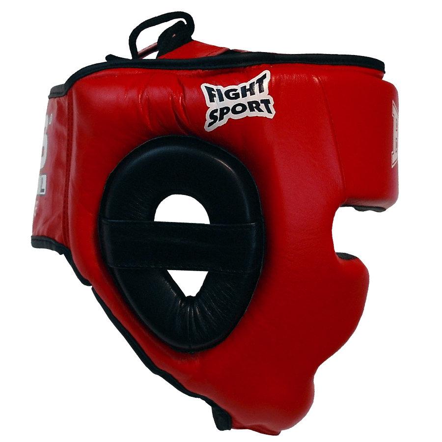Červená boxerská přilba Bail - velikost M