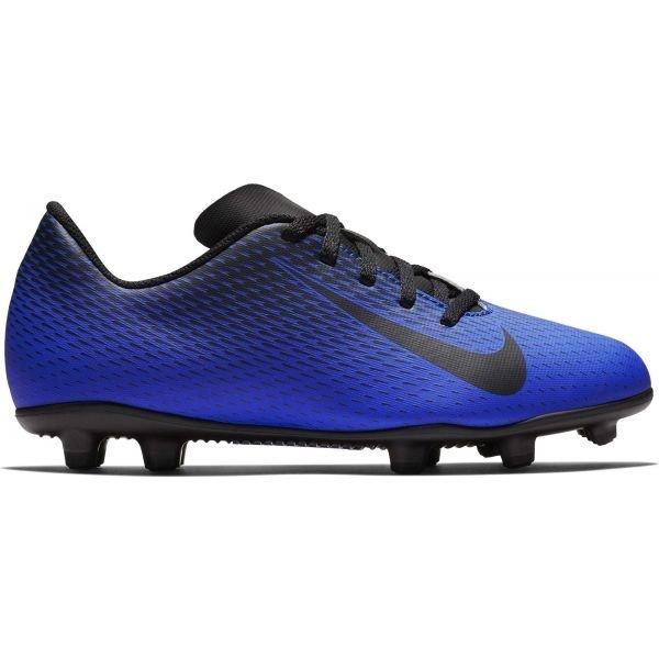 Modré dětské kopačky lisovky Nike