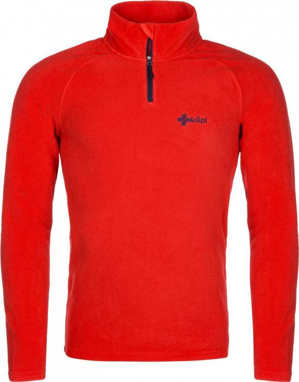 Červená pánská lyžařská mikina bez kapuce Kilpi - velikost 3XL