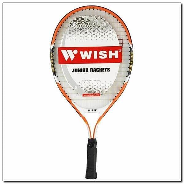 Oranžová tenisová raketa Wish