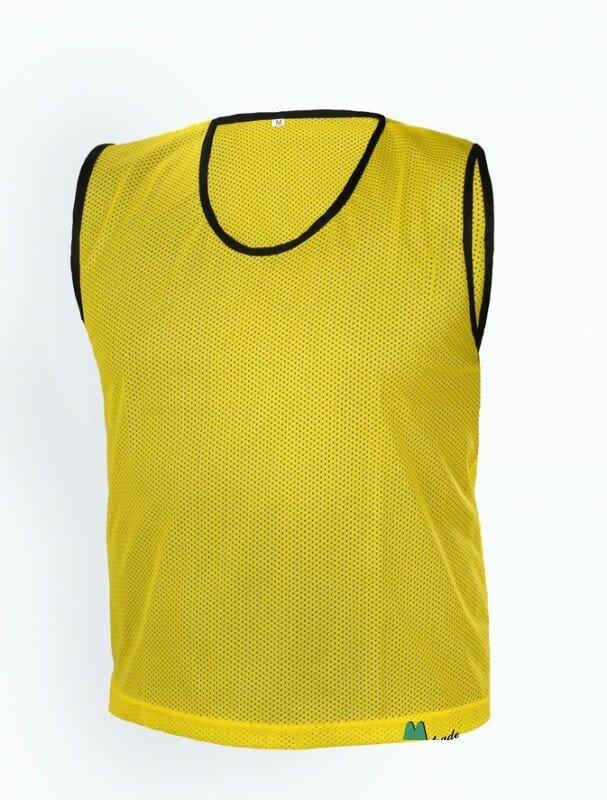 Žlutý rozlišovací dres Mtrade - velikost XXS