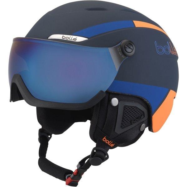 Modrá lyžařská helma Bollé