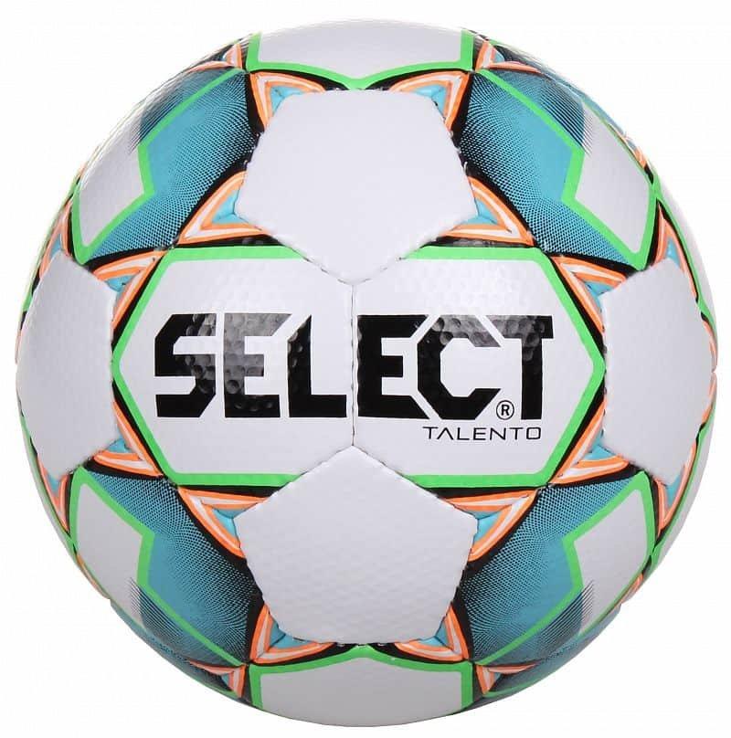 Fotbalový míč - Select Futsal Talento barva: bílá-zelená;velikost míče: č. 3