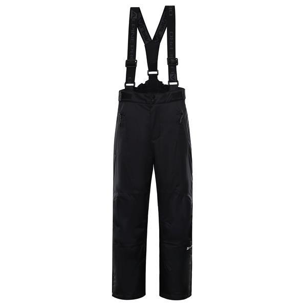 Černé dětské lyžařské kalhoty Alpine Pro - velikost 104-110