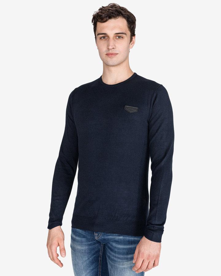 Modrý pánský svetr Antony Morato - velikost L