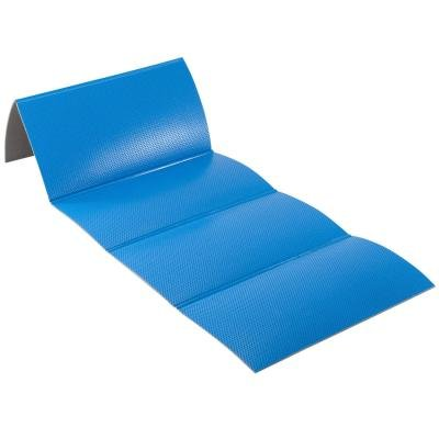 Modrá podložka na cvičení Domyos - tloušťka 0,8 cm