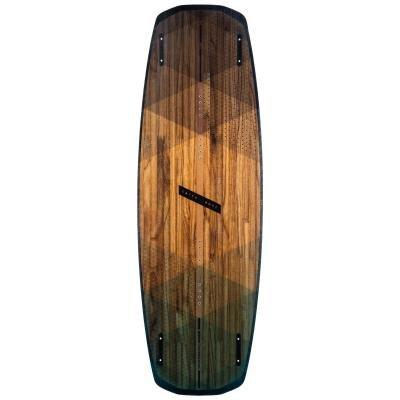 Hnědý wakeboard - délka 144 cm a šířka 45 cm