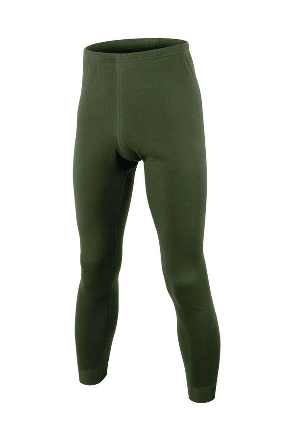 Zelené dámské funkční kalhoty Lasting