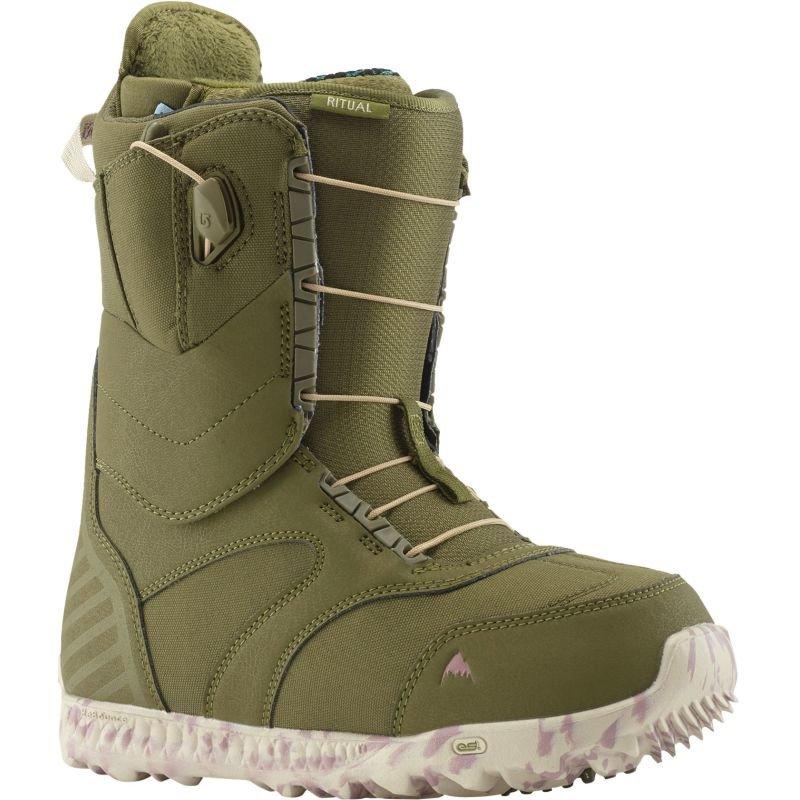 Zelené dámské boty na snowboard Burton - velikost 40 EU