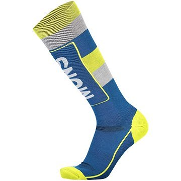 Modré pánské lyžařské ponožky Mons Royale