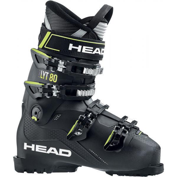 Černé dámské lyžařské boty Head