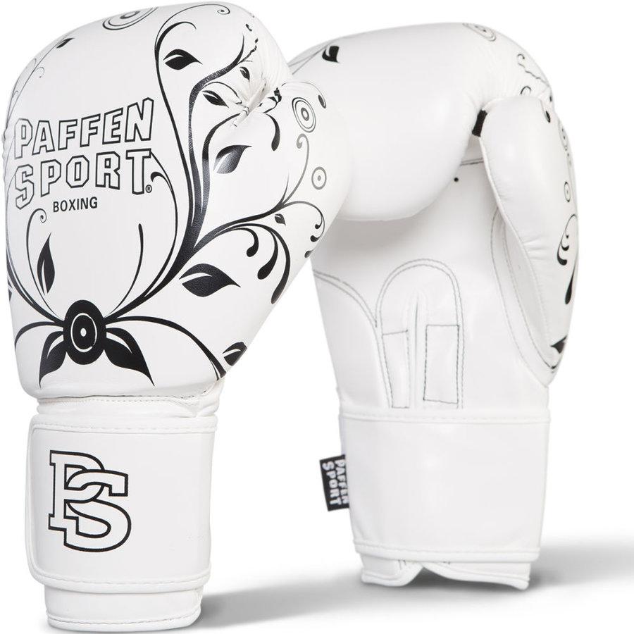 Boxerské rukavice - Paffen dámské rukavice na box - bílá - velikost 12