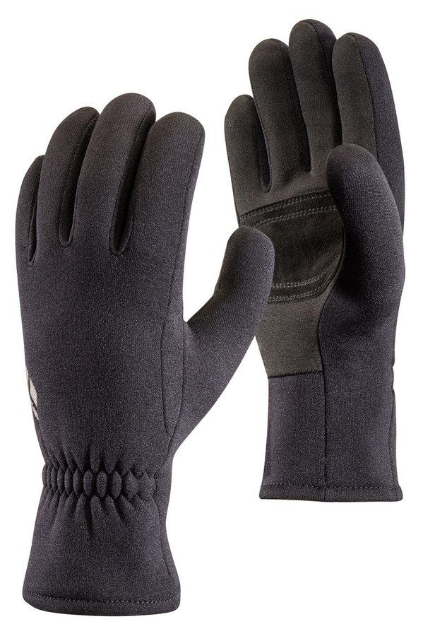 Černé dámské zimní rukavice Black Diamond - velikost M
