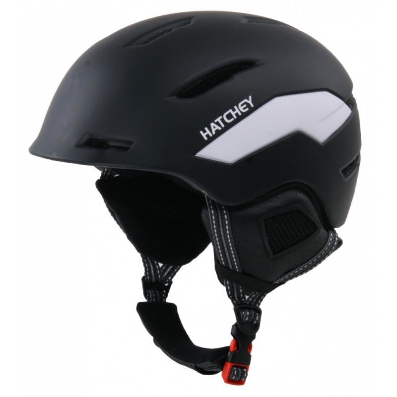Černá lyžařská helma Hatchey - velikost 52-56 cm