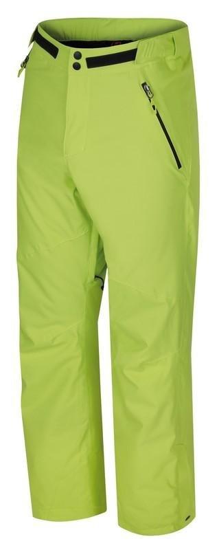 Zelené pánské lyžařské kalhoty Hannah