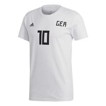 """Bílé pánské tričko s krátkým rukávem """"Německá reprezentace"""", Adidas - velikost L"""