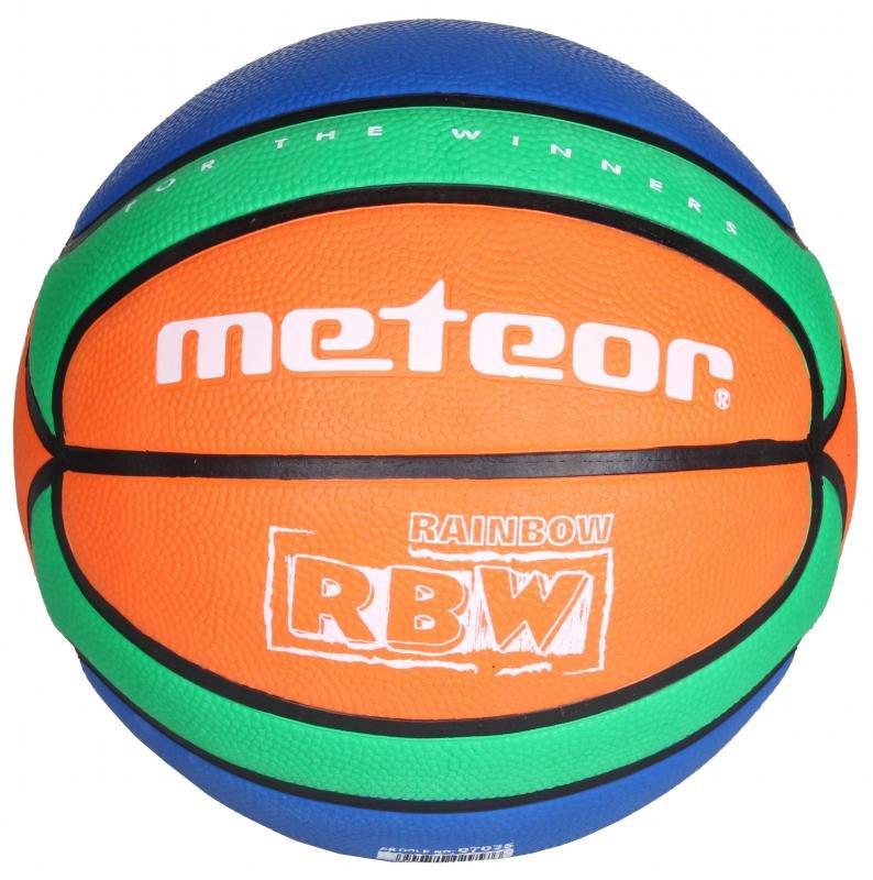 Různobarevný basketbalový míč RBW, Meteor