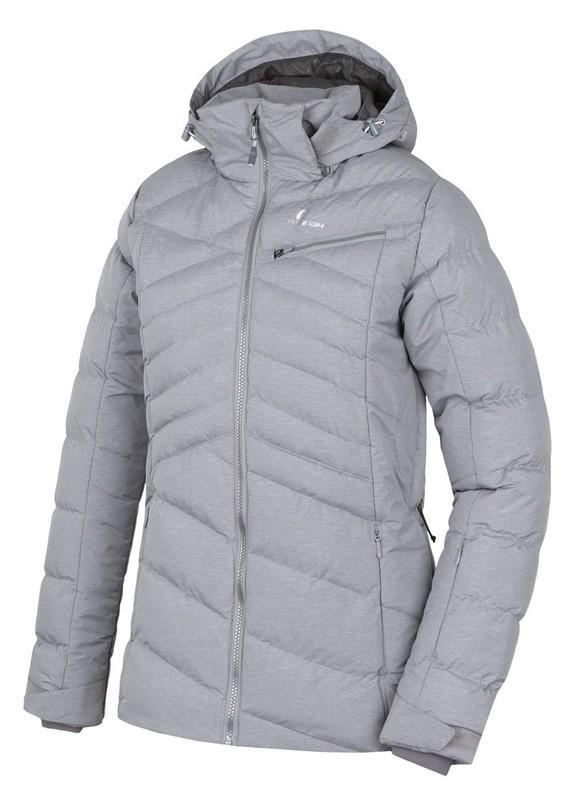 Šedá dámská lyžařská bunda Hannah - velikost 34