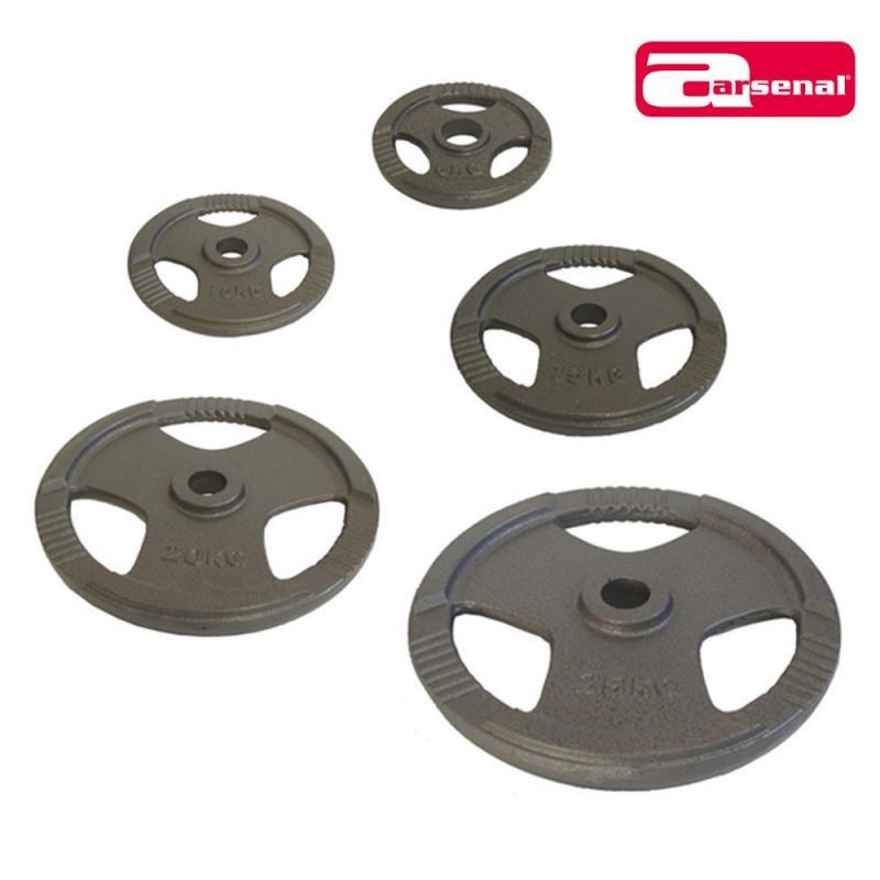 Kotouč na činky - ARSENAL kotouč OL litina 25 kg, otvor 50 mm
