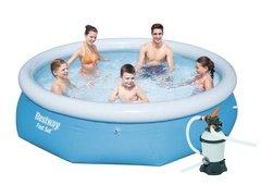 Nafukovací nadzemní kruhový bazén Bestway - průměr 305 cm a výška 76 cm
