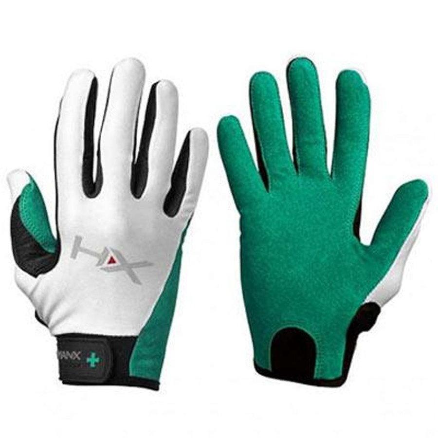 Bílo-zelené dámské fitness rukavice Harbinger - velikost S