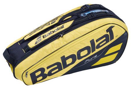 Černo-žlutá tenisová taška Pure Aero X6, Babolat