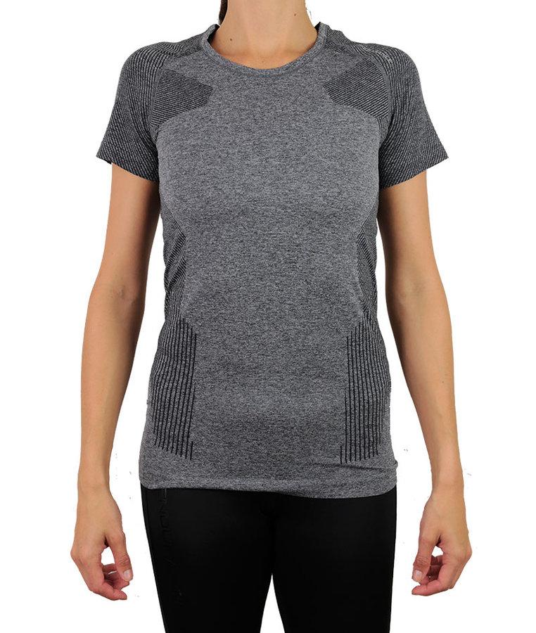 Šedé dámské tričko s krátkým rukávem Endurance - velikost XXS-XS