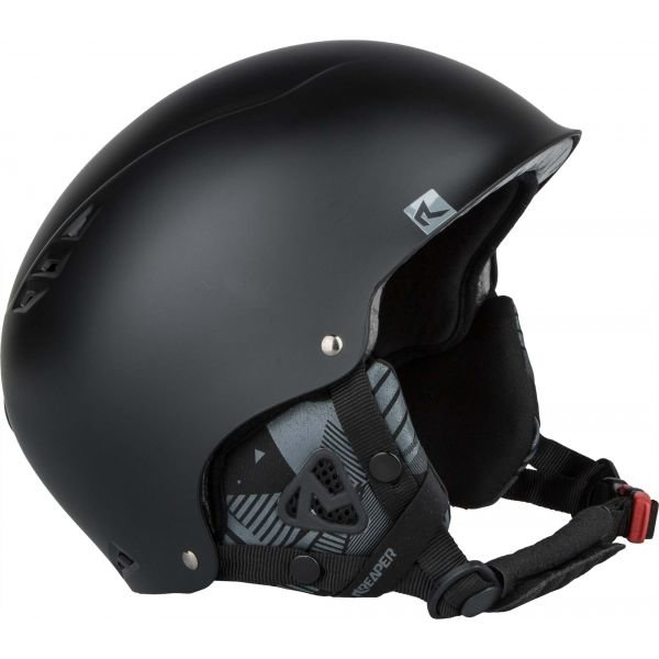 Černá helma na snowboard Reaper