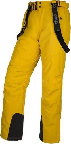 Žluté pánské lyžařské kalhoty Kilpi - velikost 3XL