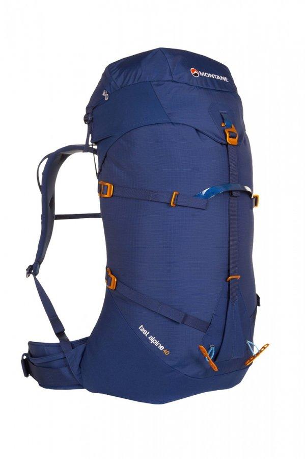 Modrý horolezecký batoh Montane - objem 40 l