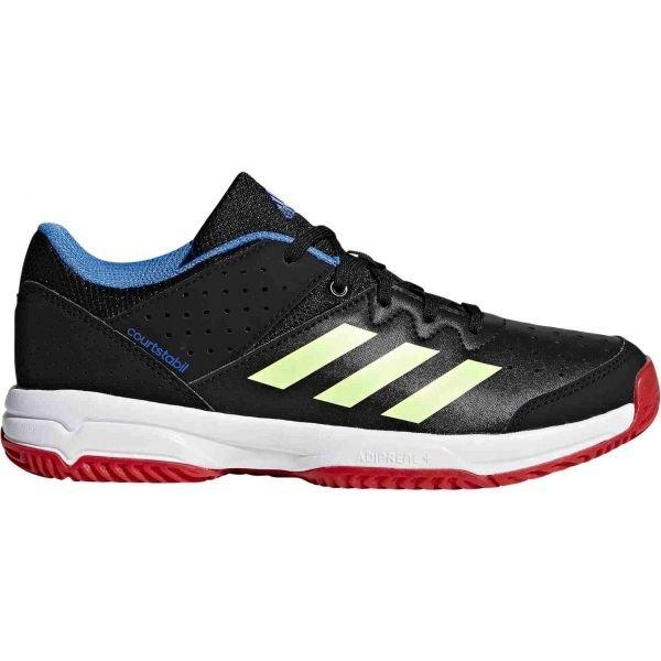 Černé dětské boty na házenou Adidas - velikost 36 2/3 EU