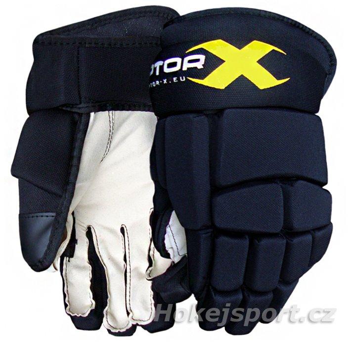 """Černé hokejové rukavice Raptor-X - velikost 9"""""""