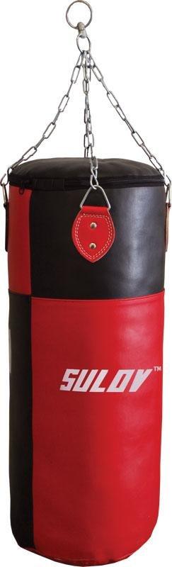 Černo-červený boxovací pytel Sulov