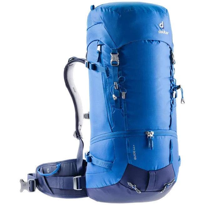 Modrý skialpový batoh Deuter - objem 44 l