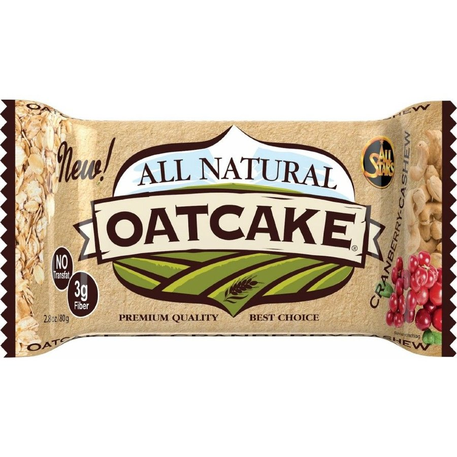 Energetická tyčinka - All Natural Oatcake 80 g - All Stars
