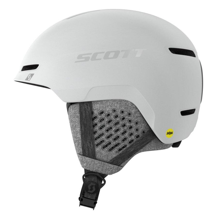 Bílá dětská lyžařská helma Scott