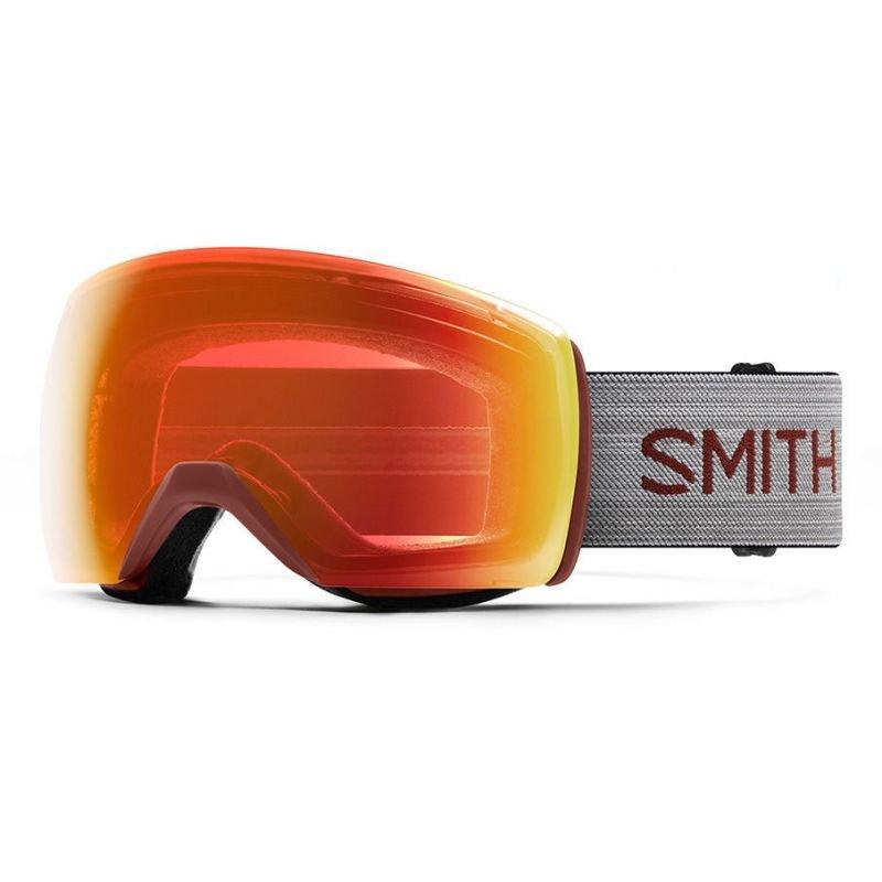 Šedé brýle na snowboard Smith