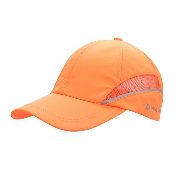 Oranžová kšiltovka Squirrel, Alpine Pro - univerzální velikost