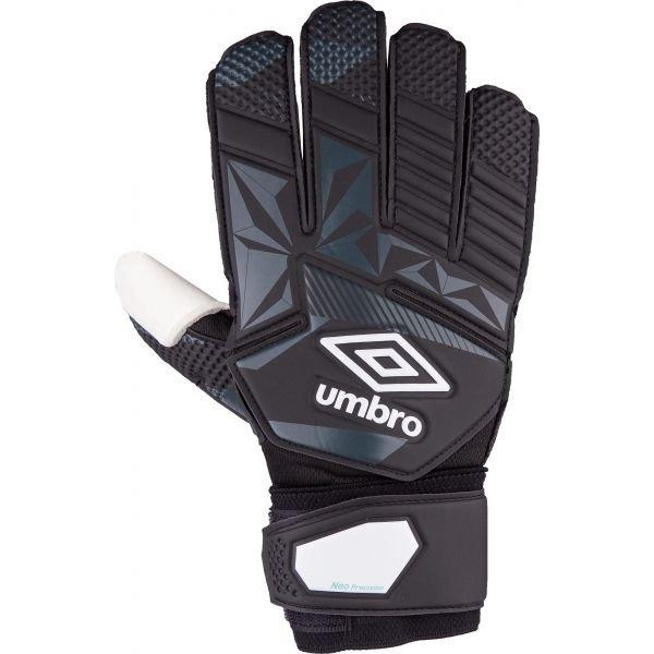 Černé pánské brankářské fotbalové rukavice Umbro