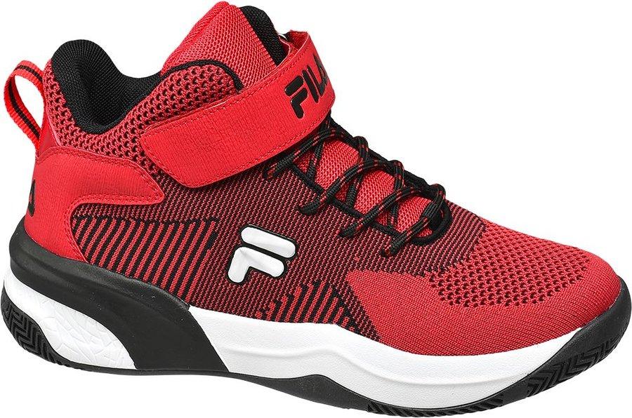 Červené dětské tenisky Fila - velikost 40 EU