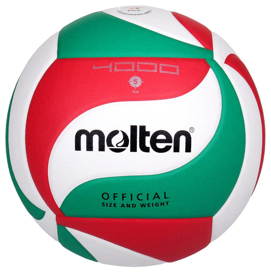 Různobarevný volejbalový míč V5M4000, Molten - velikost 5
