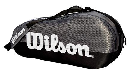Tenisová taška - Wilson Team 1 Comp 2019 šedá