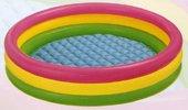 Dětský nafukovací nadzemní kruhový bazén INTEX - průměr 114 cm a výška 25 cm